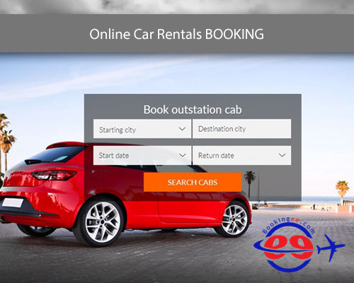 online car rentals booking